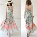 Bohemian Chiffon Dress Tub..