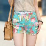Vintage Low Waisted Flower S..