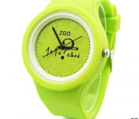 Geek Watch Women, Men, Kids silicone candy jelly rubber bracelets 6Colors sports watches