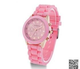Women Watches Silicone Unisex Jelly Sports Wrist Watch 15colors