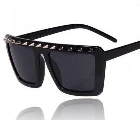 Spikes Rivets Sunglass Unisex Punk Sunglasses