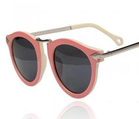 Vintage Pink Frame Sunglass Chic sunglasses