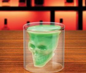 Geek Creative Cool Skull Shot Glass Cup Wine Drinking