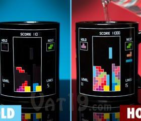 Geek Tetris Heat Change Mug Coffee Mugs